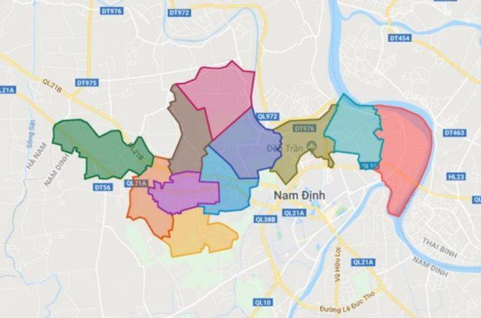 Huyện Mỹ Lộc phía Bắc TP. Nam Định