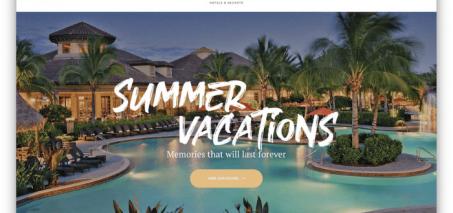 thiết kế website khách sạn