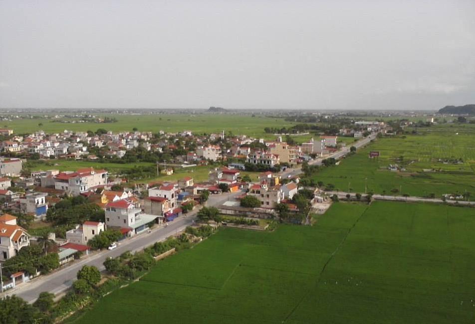 Huyện Vụ Bản phía Bắc Nam Định