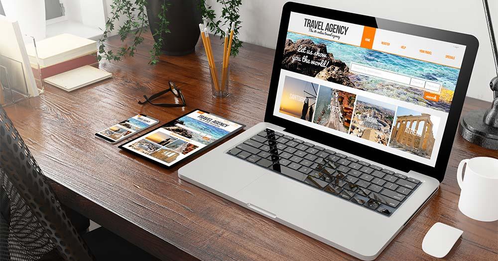 Nhu cầu thiết kế sử dụng website du lịch